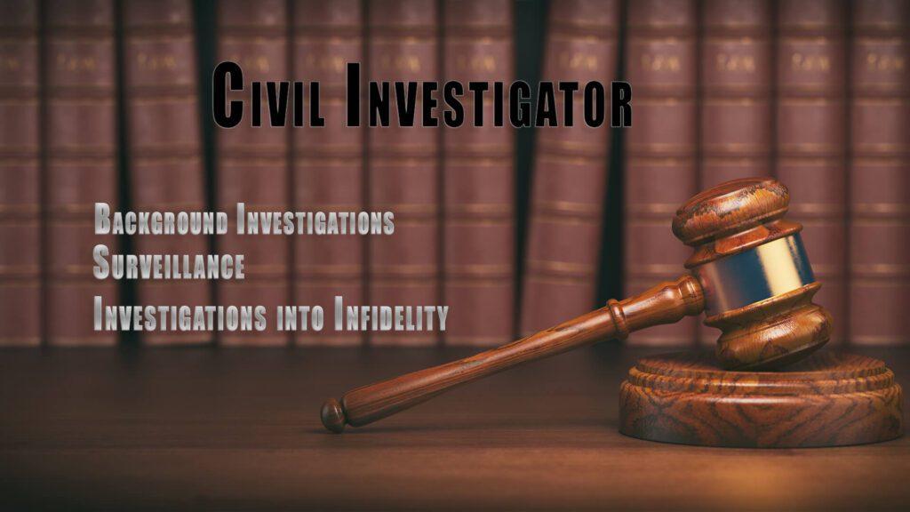 Civil Investigator in Oklahoma